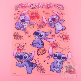 Support Feuille Disney Japan Stitch Transparent
