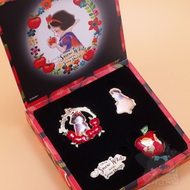 Coffret Pin's Blanche Neige Disney Japan