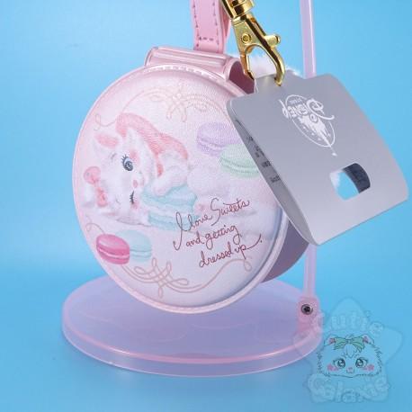 Strap Miroir Pompon Marie Disney Japan