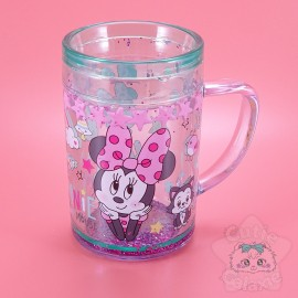 Tasse Minnie Double Fond Etoilée Pailletée Disney Japan