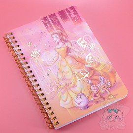 Carnet Bloc-Note Disney Japan La Belle Et La Bête