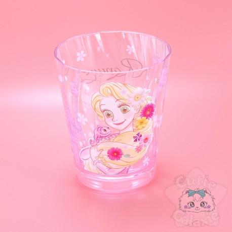 Verre Raiponce Rose Fleuris Disney Japan