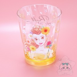 Verre Belle Rose Fleuris Disney Japan