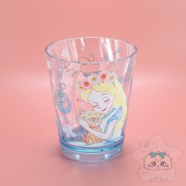 Grand Verre Alice Au Pays Des Merveilles Collection Fleuris Disney Japan