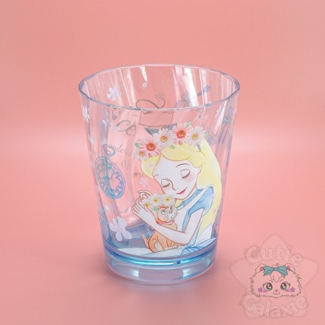 Verre Alice Rose Fleuris Disney Japan