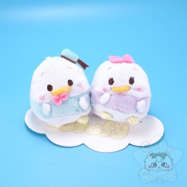 Lot de 2 Mini Peluches Ufufy Donald Et Daisy Disney Japan