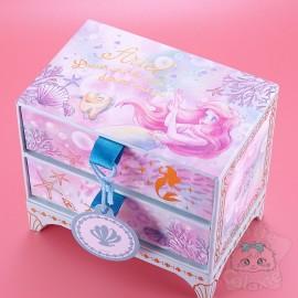 Boite Rangement Mémo Post-it Ariel Disney Japon