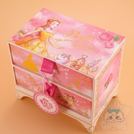 Boite Rangement Mémo Post-it Belle Disney Japon