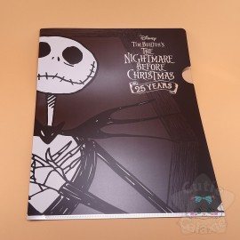Range Document Jack Skellington Spécial 25ième Anniversaire Disney Japan