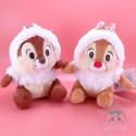 Lot Peluches Tic Et Tac Edition Spécial Noël Disney Japan