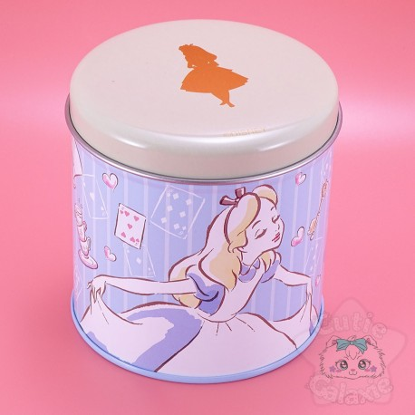 Petite Boite Métal Alice Aux Pays Des Merveilles Disney Japan