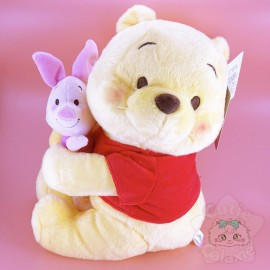 Peluche Winnie l'Ourson Porcinet Disney Japan
