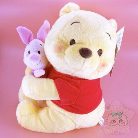 Peluche Winnie l'Ourson Porcinet Disney Japan