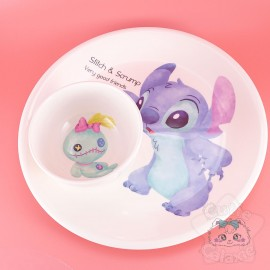 Lot Assiette Bol Stitch Souillon Disney Japan
