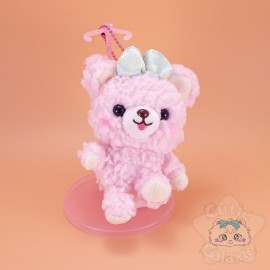 Peluche Ourson Fluffy Fuwa Nuikuma No Chikku Rose Amuse Japon