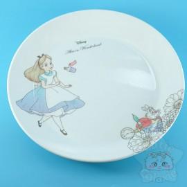Assiette Alice Au Pays Des Merveilles Lapin Blanc Disney Japon