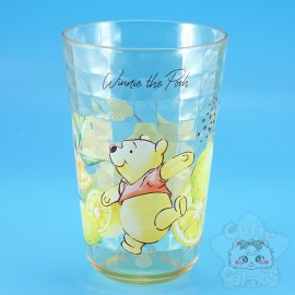 Verre Winnie L'Ourson Citron Effet Carrelage Disney Japon