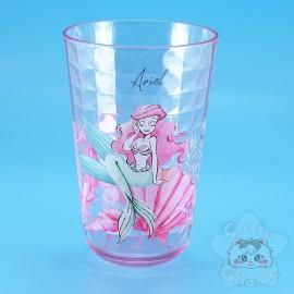 Verre Ariel La Petite Sirène Coquillage Effet Carrelage Disney Japon