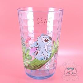 Verre Stitch Bleu Effet Carrelage Disney Japon