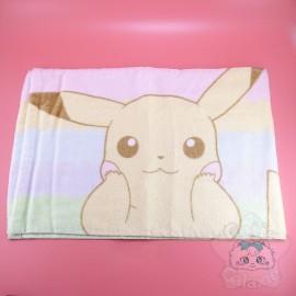 Serviette Pikachu Pokémon Multicolor Pastel