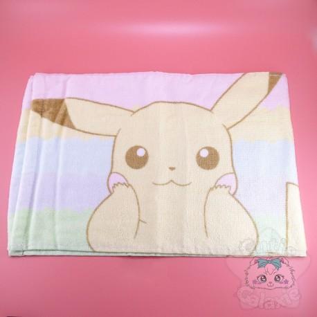 Serviette Pikachu Pokémon Bain Ou Piscine Multicolor Pastel