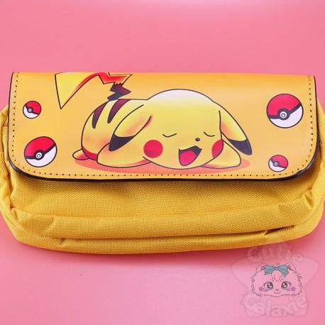 Trousse Pikachu Pokémon Pochettes Intérieur
