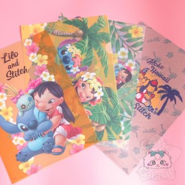 Range Document Stitch Lilo Et Stitch Hawaii Aloha Disney Japon