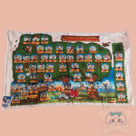 Serviette Picsou Arbre Généalogique Donald Duck Disney Japon