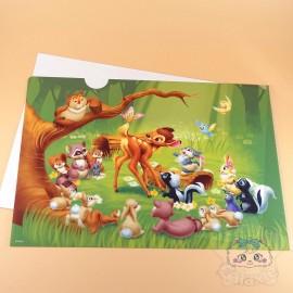 Range Document Bambi Disney Japon