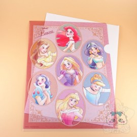 Range Document Princesses Ariel Jasmine Raiponce Belle Aurore Cendrillon Blanche Neige Disney Japon