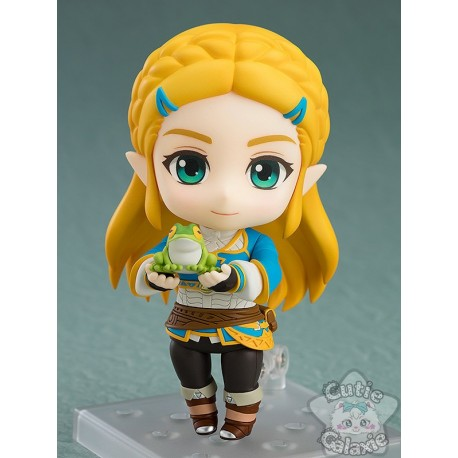 Nendoroid Zelda Breath Of The Wild Deluxe Edition Good Smile Company