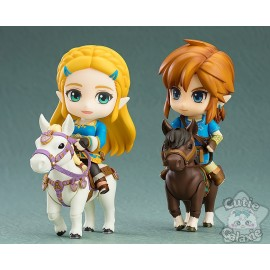 Nendoroid Lot Zelda Et Link Breath Of The Wild Deluxe Edition Good Smile Company