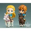 Nendoroid Lot Zelda Et Link Breath Of The Wild Deluxe Edition Good Smile Company