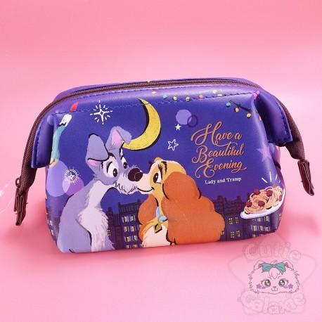 Pochette Trousse Belle Et Clochard Disney Japan