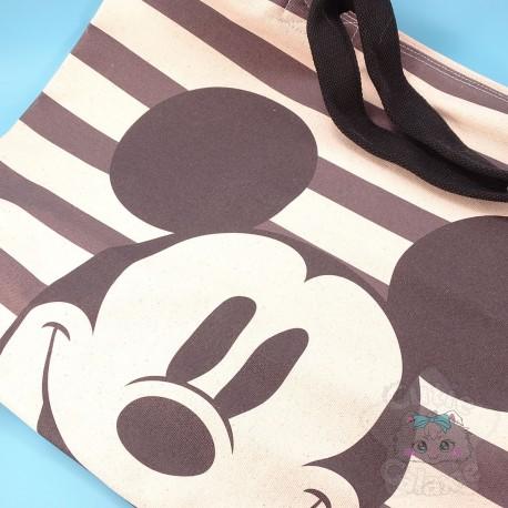 Grand Sac Canvas Mickey Disney Japan