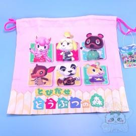 Sac Tissus Cordon Animal Crossing Nintendo Japon