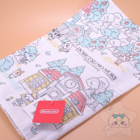 Grande Serviette Douche Animal Crossing Nintendo Tokyo Japon