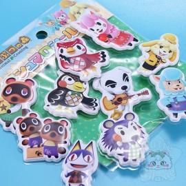 Grand Stickers Mous Animal Crossing Nintendo Bandai