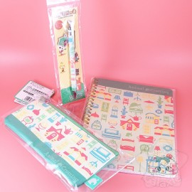 Lot Papeterie Carnet Trousse Et Stylo Animal Crossing Nintendo