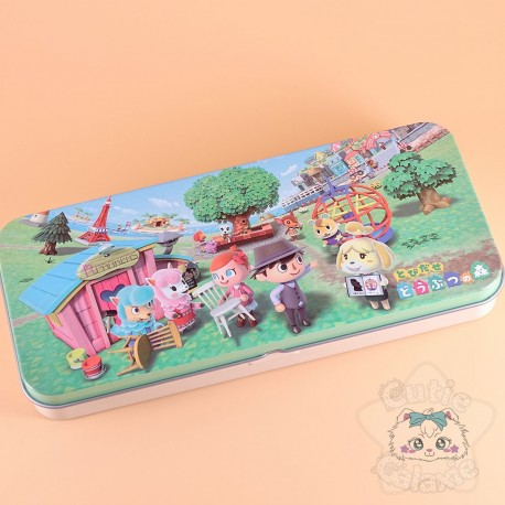 Boite Métal Rangement Animal Crossing Nintendo Tokyo