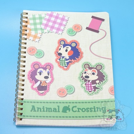 Carnet A5 Animal Crossing Layette Cousette Nintendo Tokyo