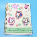 Carnet A5 Animal Crossing Layette Cousette Maria Nintendo Japon
