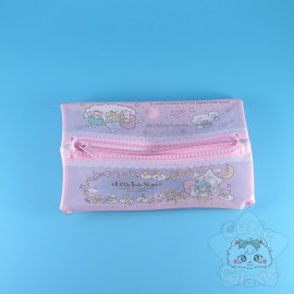 Trousse Double Compartiment Transparente Little Twin Stars Sanrio