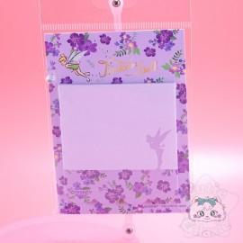 Mini Planche Bloc-Note Fée Clochette Peter Pan Disney Japon