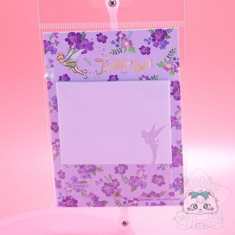 Planche Bloc-Note Fée Clochette Peter Pan Disney Japon