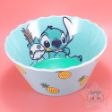 Bol Stitch Lilo Et Stitch Ananas Bordure Ondulée Disney Japon