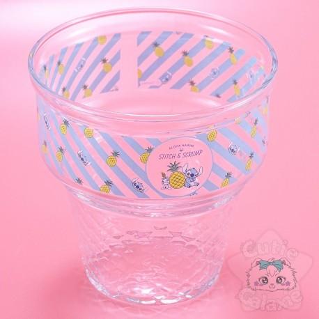 Coupelle A Glaçe Verre Stitch Lilo Et Stitch Disney Japon