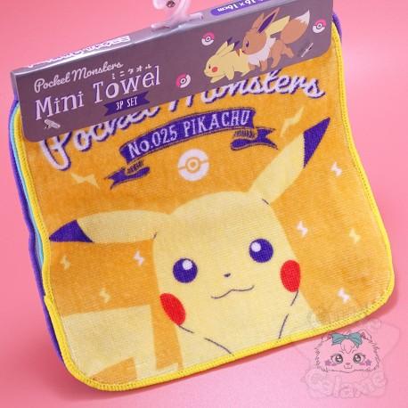 Serviette Mains Pokémon Pocket Monsters