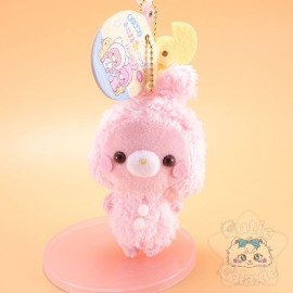 Strap Peluche Bébé Animaux Lapin Rose Yell Japan