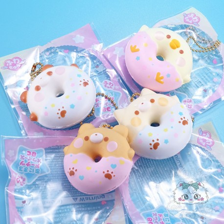 Mini Strap Squishy Donut Animaux Fuwa Yell Japan